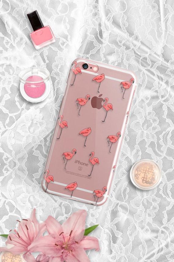 iPhone 7 Case Rubber iPhone 7 Plus Case Clear Flamingos iPhone 6 Case Clear Samsung Galaxy S6 Case Clear iPhone 6 Case Clear iPhone 6s Case