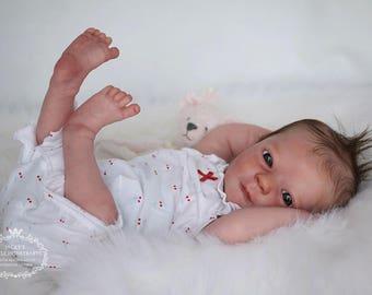 CUSTOM REBORN BABY ~ Ashley Awake By Realborn ~ 6 month layaway