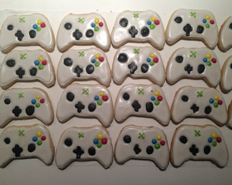 Xbox Controller Sugar Cookies