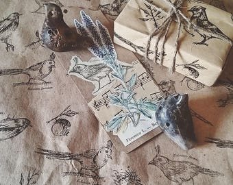 Clear stamps -- birds