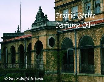 PRAIRIE GOTHIC ™ Perfume Oil - Absinthe, Anise, Tumbleweed, Amber, Patchouli, Wet Concrete, Spring Water, Spirit Accord - Halloween Perfume