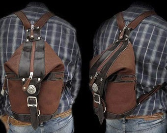 Leather Backpack /bb3168b43