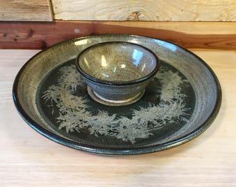 Glazed Pottery Server