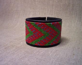 Bead loom bracelet pattern, INSTANT DOWNLOAD PDF-file.