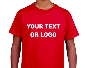 Youth Custom Lettered T-shirt