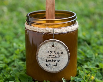 Hygge Amber Organic Soy Candle