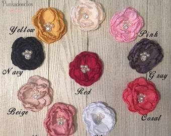 Girls Flower Chiffon Hair Clip-3 Inch Hair Clips- Special Occasion Hair Clip