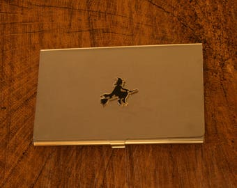 Witch Business Credit Card Holder Gift FREE ENGRAVING