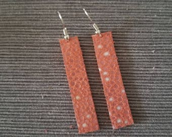 Coral Bar earring