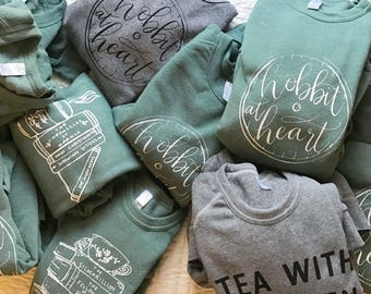 DESIGN YOUR OWN Custom Tea with Tolkien Sweatshirt (Pre-Order)