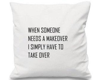 Popular Cushion, Wicked Cushion, Musical Cushion, Song Cushion, Idina Menzel Cushion, Song Cushion, Lyric Cushion, Kristin Chenoweth
