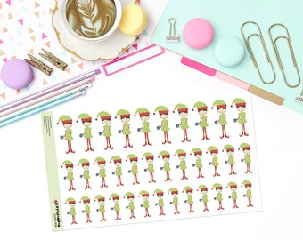"JINGLE ""MAY"" Doodle Paper Planner Stickers!"