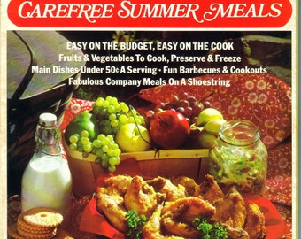 Carefree Summer Meals, Salads, Desserts, Family Circle Magazine, 1975  (223-10)
