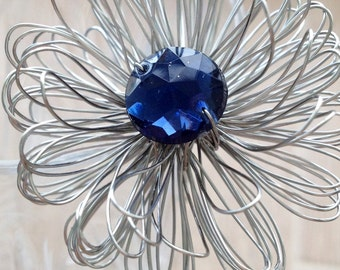 Flowers Hairpin/ Wire Jewelry Hair Pins/ Hair accessories/ Bridesmaid Hair Pins/ Wedding/ Wire hairpin/ Wire Wrapped Hairpin