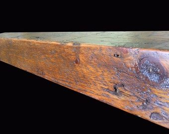 Oak Barn Beam Mantels, Custom Built Fireplace Mantles built to order, MN, Rustic Mantle