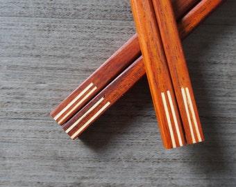 Wooden Chopstick Unique Design High Quality Handmade Eco Friendly