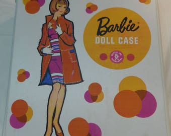 Vintage 1958 Barbie Doll Case