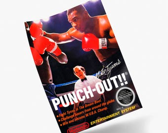 Mike Tyson's Punch-Out!! NES Print