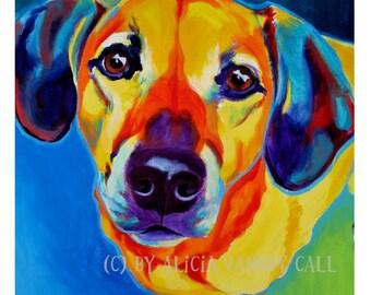 Dachshund, Pet Portrait, DawgArt, Dog Art, Dachshund Art, Pet Portrait Artist, Colorful Pet Portrait, Art, Art Prints, Doxie