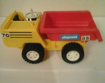 Vintage Play Mobil 1980 Dump Truck 3508