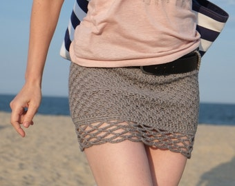 PATTERN Cotton Mini Skirt / Pattern PDF - Instant Download / Detailed Instructions In English For Crochet Skirt