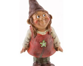 Darice® Yard and Garden Minis - Gnome Girl - Resin - 3.5 inches