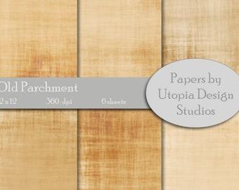 Digital Paper Pack - Old Parchment