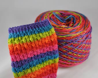 "Self-Striping Yarn - ""Valley Girl"""