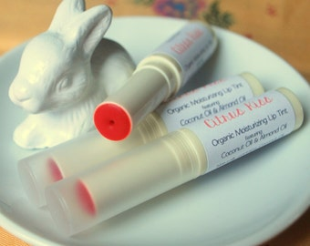 Sheer Moisturizing Lip Tint featuring Coconut & Sweet Almond Oils