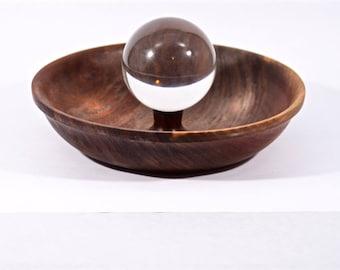 walnut bowl, qx-153