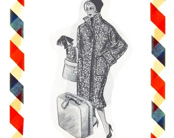 Vintage Sewing Pattern in any size including plus size 1949 PDF Instant Download Pattern no 70