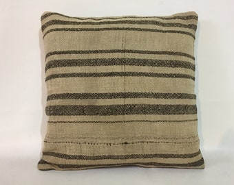 16x16, Kilim pillow, Wool pillow, Boho pillow, Home living, Vintage pillow, Decorative pillow, Kilim Cushion cover, 40x40 Cm Cushion cover