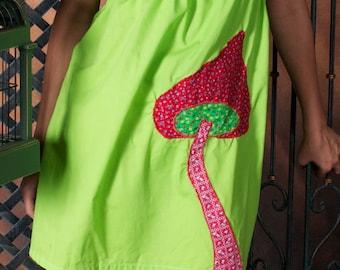 Suchen Sie ein riesiger Pilz - Neon-Kleid