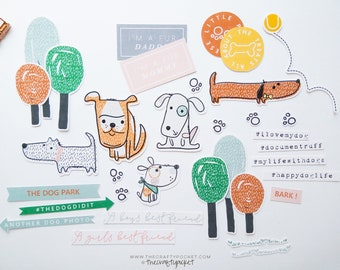 Dogs - Ephemera Elements Pack