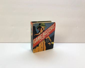 Gang Busters Step In, Based on the Famous Radio Program of Phillips H. Lord-1939 The Better Little Book LOWERY'S Collector's Number: GW229