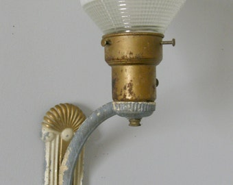 Shabby Chic Art Deco Wall Lamp/Sconce