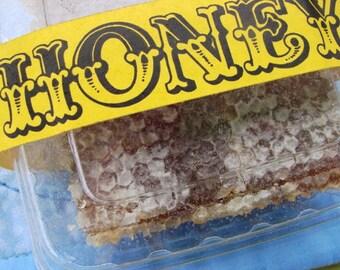 Honey Comb Honeycomb Pure Raw NY Wildflower ALL NATURAL