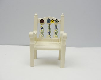 Vintage miniature furniture chair