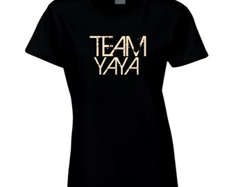 Team Yaya Greek  Grandmother Nationality T Shirt