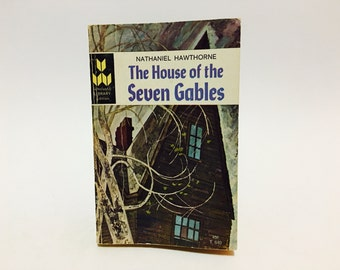 Vintage Classics Book The House of the Seven Gables by Nathaniel Hawthorne 1966 Paperback