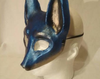 Blue Fox Mask