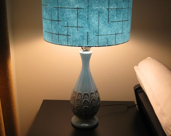 Made to Order Mid Century Vintage Style Fiberglass Lamp Shade Custom Retro Atomic