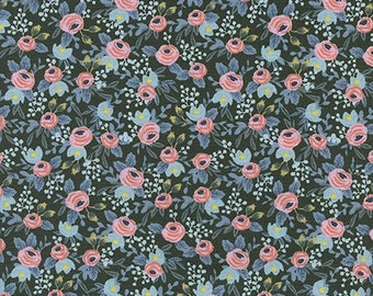 Rosa Hunter from Menagerie by Anna Bond of Rifle Paper Co for Cotton + Steel - 1/2 Yard