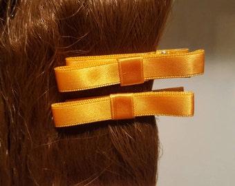 Orange Hair bows
