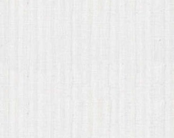 White Stripe Fabric - White Out from Timeless Treasures - Hue C 6077 White - 1/2 yard