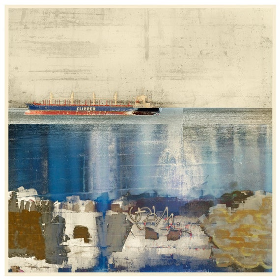 The Shipping Lanes, limited edition fine art print