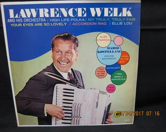 Lawrence Welk & Orchestra/Mario Kostellani  and His Accordion - Coronet Records