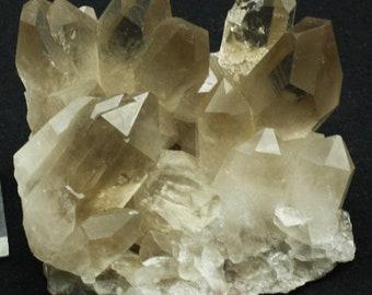 Smoky Quartz Crystal Cluster, Brazil  - Mineral Specimen for Sale