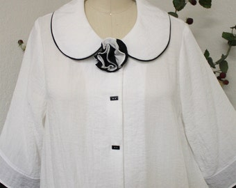 New Designer Sweetheart Plus Size Blouse. M, L, 1XL, 2XL, 3XL. Sweetheart Blouse.