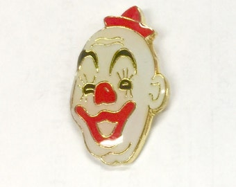 1978-82 Bald Clown Barnum and Bailey Circus Pin